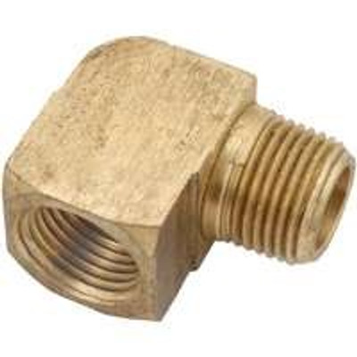 "Brass Fittings, 1/8"", Elbow St 90 Deg"