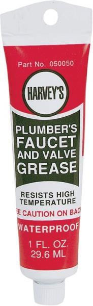 Harvey's, Faucet/Valve Grease, 1 Oz