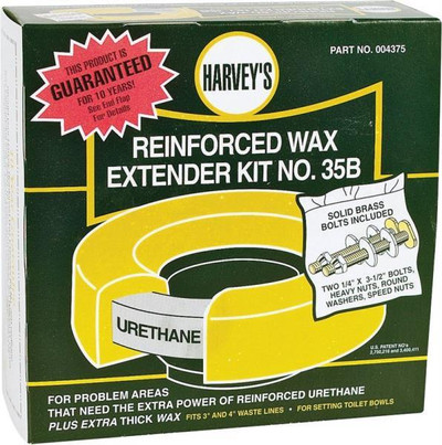 "Harvey's, ""EXTENDER KIT NO. 35B"" Wax Ring Extender Kit"