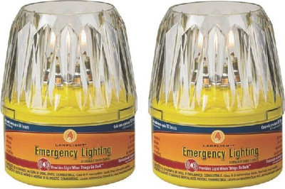 Emergency Lamp Kit, Includes 2 Oil Lamps & Strike Anywhere Matches