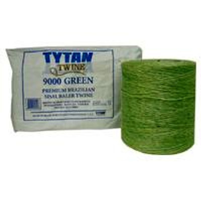 Baler Twine, Green Sisal, Two 4,500' Rolls