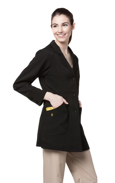 WonderWink Four-Stretch Women's Lab Coat