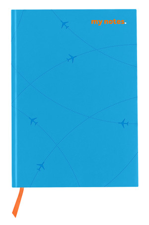 flydubai notebook - Light Blue