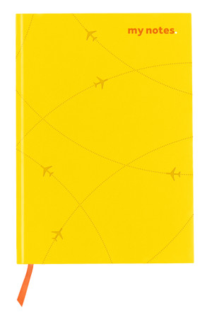 flydubai notebook -Yellow