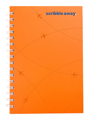 flydubai spiral notebook - Orange