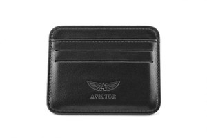.Credit Card Leather Wallet by Aviator