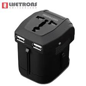 .Power Pro 4 USB Travel Adapter by Lifetrons Switzerland