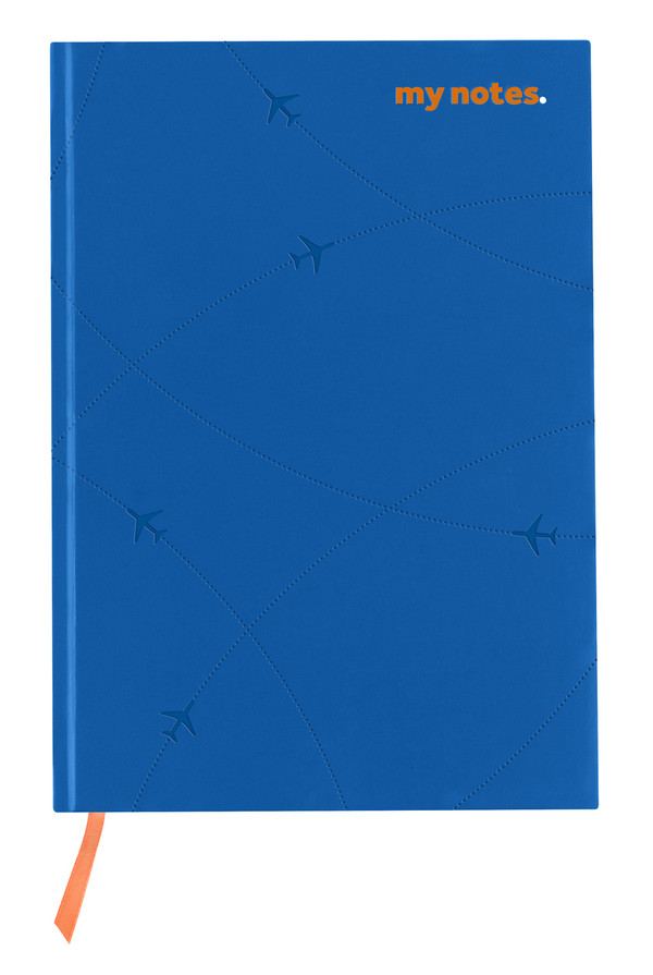 flydubai notebook - Blue