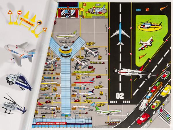 flydubai Airport Set with Fun Plane