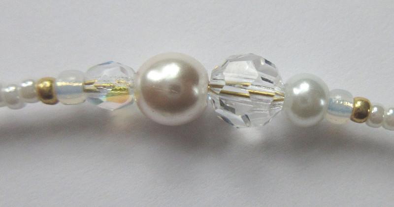Bead detail of the Clara's Dream Bracelet
