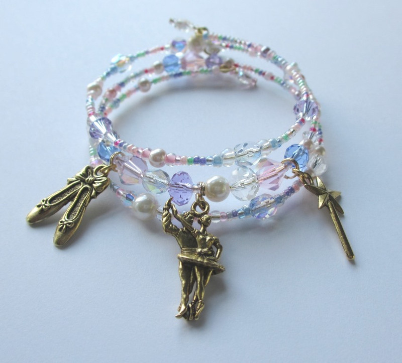 The Sugar Plum Fairy Bracelet inspired by The Nutcracker ballet
