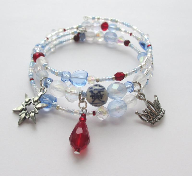 Beads and charms evoke Act 2 of Puccini's Turandot.