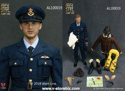 Alert Line AL100019 WWII Royal Air Force Fighter Pilot