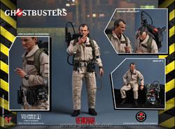Soldier Story GBI001 Ghostbusters Peter Venkman