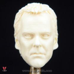 Custom Jack Bauer Headsculpt (Unpainted Resin)