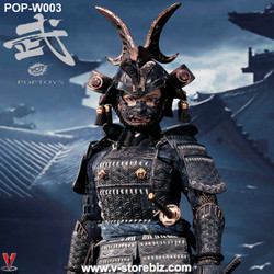 POPToys W003 Butterfly Helmet Female Samurai Old Color Armor (Standard Ver.)