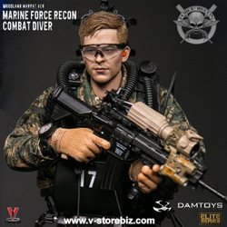 DAM 78055 Marine Force Recon Combat Diver (Woodland MARPAT Version)