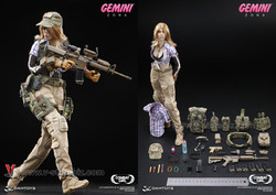 DAM DCG001 Combat Girl Series Gemini Zona
