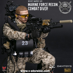 DAM 78056 Marine Force Recon Combat Diver (Desert MARPAT Version)