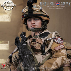 DAMTOYS 2016 Exhibition 78036 British Army In Afghanistan Minimi Gunner