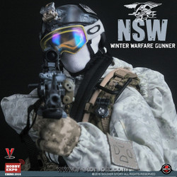 Soldier Story China Hobby Expo SS095 NSW Winter Warfare Gunner Exclusive