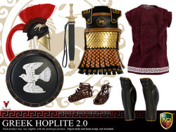 ACI-772C Greek Hoplite 2.0 Armor Set C