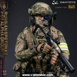 DAMToys 78047A  Russian Spetnaz FSB Alpha Group (Luxury Version)