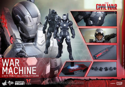 Hot Toys MMS344D15 Captain America: Civil War War Machine Mark III