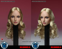 SUPER DUCK SDH005B Blonde Long Haired Female Headsculpt