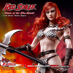 TBLeague PL2016-93  Scars of the She-Devil Red Sonja