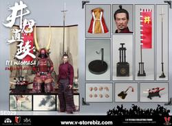 Coomodel SE029 Series Of Empires Iyi Naomasa The Scarlet Yaksha (Exclusive Edition)