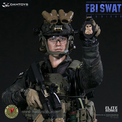 DAMToys 78044B FBI SWAT Team Midnight Ops Agent - San Diego