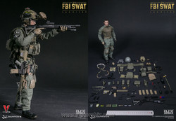 DAMToys 78044A FBI SWAT Team Agent San Diego