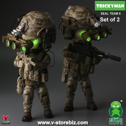 FigureBase Trickyman TM001 & TM002 SEAL Team 6 Squad Leader &  Gunner (Set of 2)
