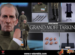 Hot Toys MMS433 Star Wars: Episode IV A New Hope Grand Moff Tarkin