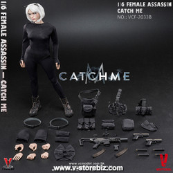 "Very Cool VCF2033B Female Assassin Series ""Catch Me"" Scar Version"