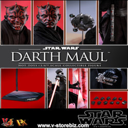Hot Toys DX16 Star Wars Episode I: The Phantom Menace Darth Maul