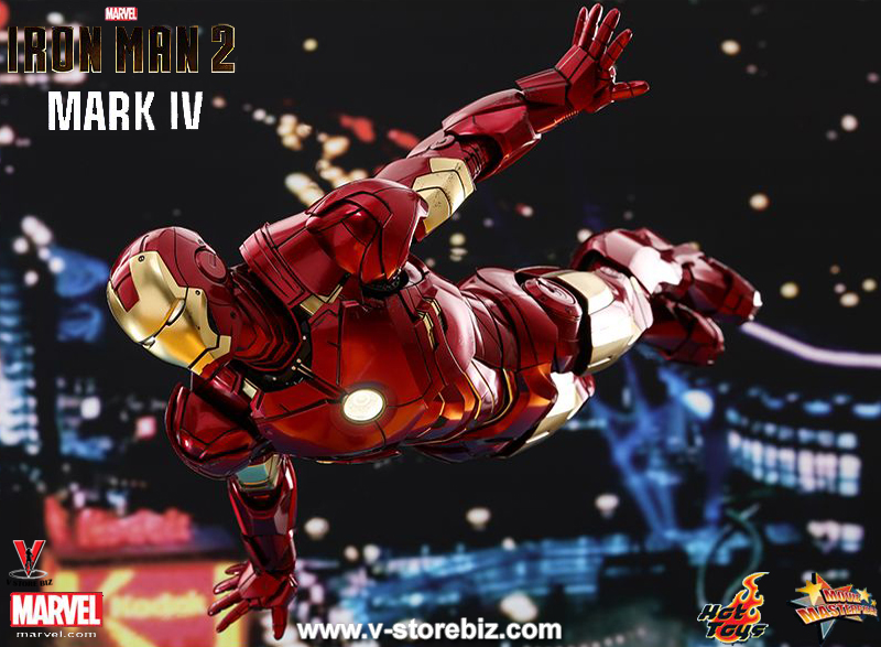 Hot Toys MMS461D21 Iron Man 2 Mark IV (Diecast Figure)