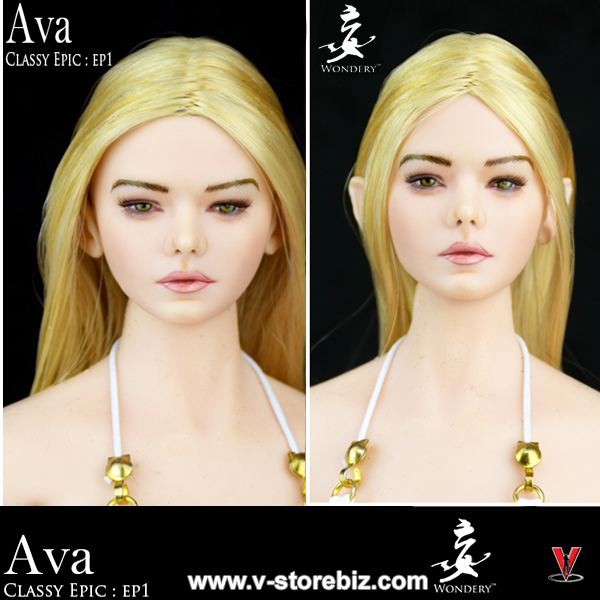 Wondery EP01 Ava Female Headsculpt