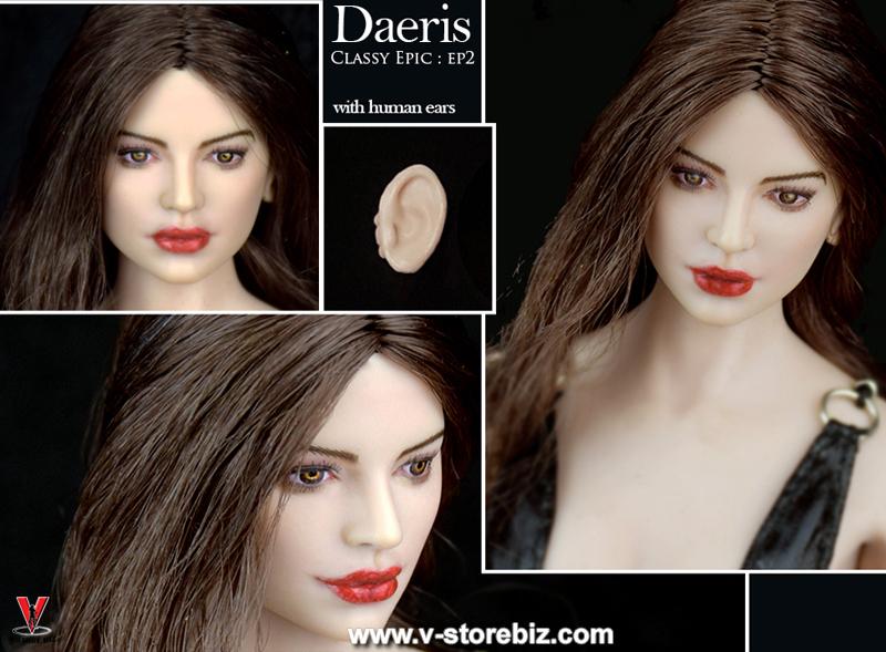 Wondery EP02 Daeris Female Headsculpt