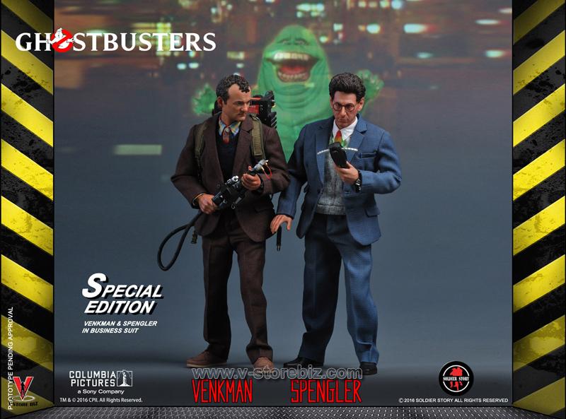 Soldier Story GBI002D Ghostbusters Egon Spengler Deluxe Version