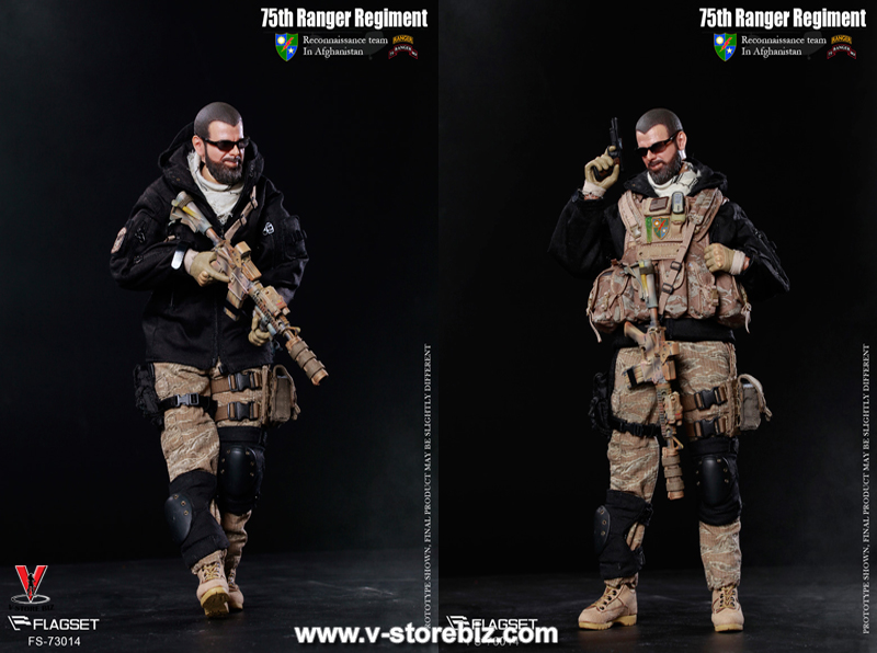 FLAGSET FS-73014 United States 75th Ranger Regiment In Afghanistan