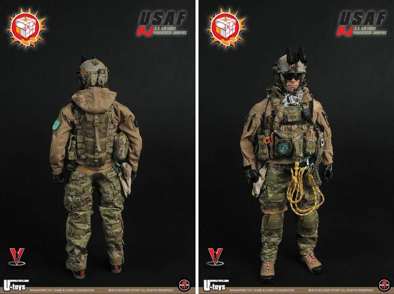 Soldier Story SS080A 2013 STGCC Exclusive USAF PJ
