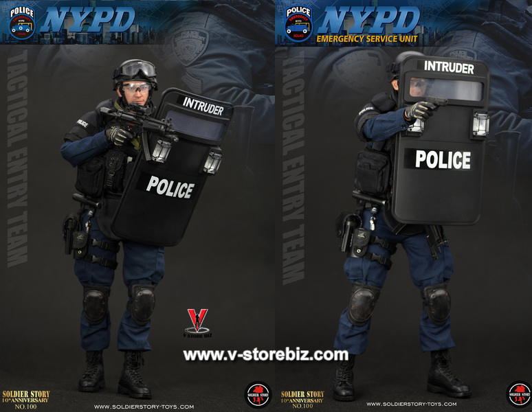 Soldier Story SS100 NYPD ESU Tactical Entry Team
