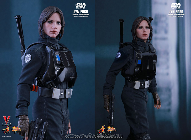 Hot Toys MMS419 Rogue One: A Star Wars Story Jyn Erso (Imperial Disguise Version)