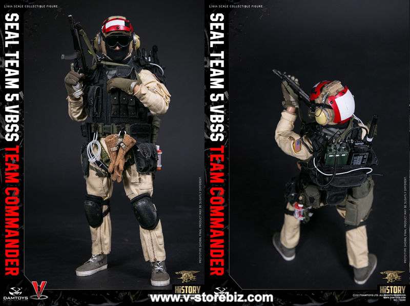 DAMToys 78046 SEAL Team 5 VBSS  Team Commander