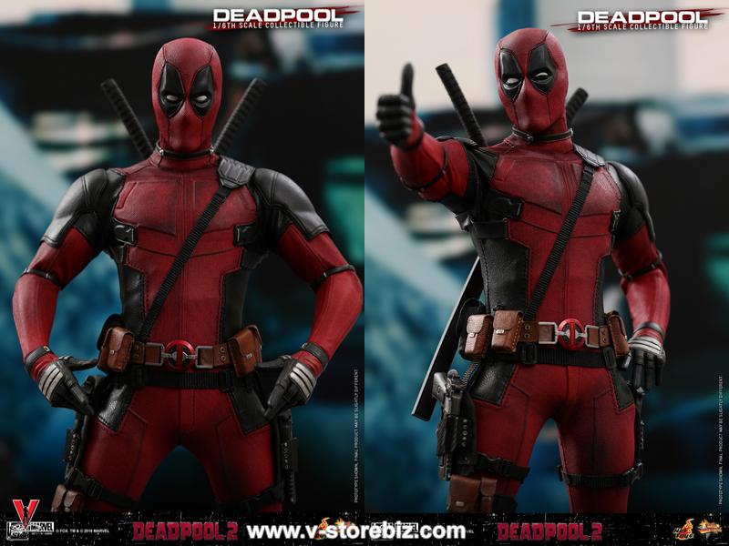 Hot Toys MMS490 Deadpool 2