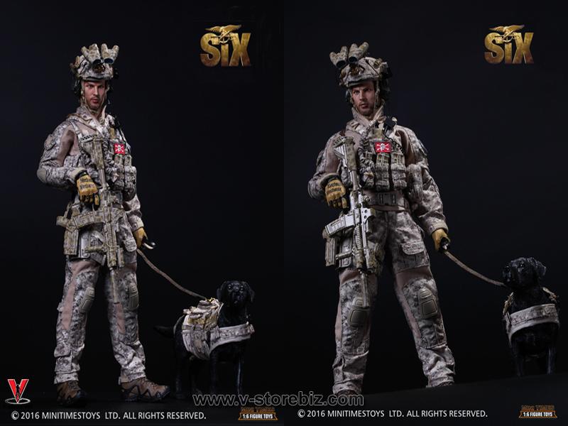 Mini Times M006 SIX Seal Team 6 HALO Jumper w/ Dog