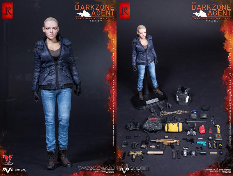 VTS Toys VM-019R The Darkzone Agent Tracy R Version