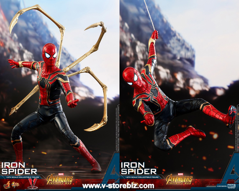 Hot Toys MMS482 Avengers : Infinity War Iron Spider
